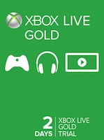 Xbox Live Gold Trial Code XBOX LIVE 2 Days GLOBAL