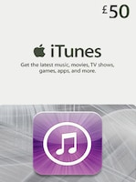 Apple iTunes Gift Card UNITED KINGDOM 50 GBP iTunes