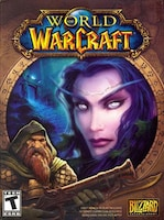World of Warcraft Time Card Blizzard NORTH AMERICA 30 Days