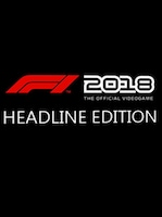 F1 2018 Headline Edition Steam Key GLOBAL