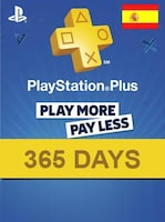 Playstation Plus CARD PSN SPAIN 365 Days