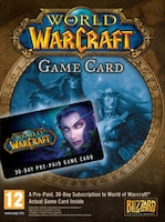 World of Warcraft Time Card Blizzard EUROPE 30 Days