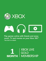 Xbox Live GOLD Subscription Card XBOX LIVE GLOBAL 1 Month