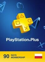 Playstation Plus CARD PSN POLAND 90 Days