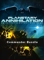 Planetary Annihilation - Digital Deluxe Commander Bundle Steam Key GLOBAL