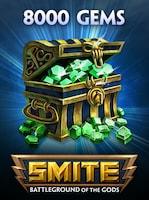 SMITE GEMS SMITE GLOBAL 8 000 Coins Key