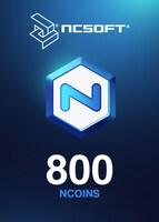 800 NCoins NCSoft EUROPE Code