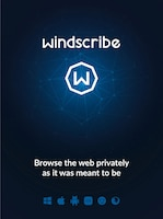 Windscribe Pro VPN 1 Year