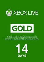 Xbox Live Gold Trial Code XBOX LIVE 14 Days EUROPE