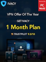 IVACY VPN 1 Month GLOBAL