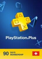Playstation Plus CARD PSN SWITZERLAND 90 Days