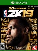 NBA 2K19 20th Anniversary Edition XBOX LIVE Key XBOX ONE GLOBAL