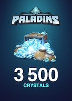 Paladins Crystals GLOBAL 3 500 Crystals Key