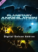 Planetary Annihilation - Digital Deluxe Add-on Key Steam GLOBAL