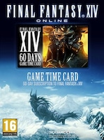Final Fantasy XIV: A Realm Reborn Time Card Prepaid Final Fantasy NORTH AMERICA 60 Days