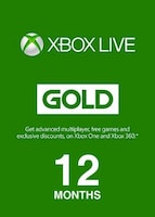 Xbox Live GOLD Subscription Card 12 Months UNITED STATES XBOX LIVE