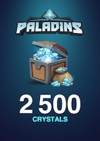 Paladins Crystals GLOBAL 2 500 Crystals Key