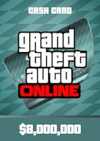 Grand Theft Auto Online: Megalodon Shark Cash Card Rockstar GLOBAL 8 000 000 USD Key PC