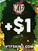 WTFSkins 1 USD Code
