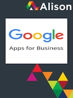Google Applications for Business Alison Course GLOBAL - Digital Certificate