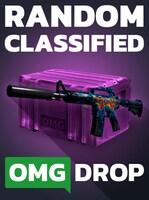 Counter-Strike: Global Offensive RANDOM CLASSIFIED SKIN CASE BY OMGDROP.COM Code GLOBAL