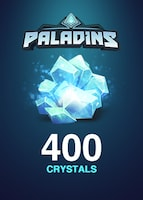 Paladins Crystals GLOBAL 400 Crystals Key
