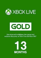 Xbox Live GOLD Subscription Card XBOX LIVE GLOBAL 13 Months