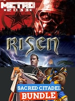Metro 2033 + Risen + Sacred Citadel Bundle Steam Key GLOBAL