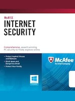 McAfee Internet Security 1 User GLOBAL Key 1 Year
