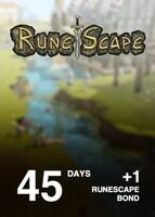 Runescape 45 Day Membership + 1 Runescape Bond