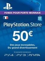 PlayStation Network Gift Card 50 EUR PSN FRANCE