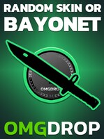 Counter-Strike: Global Offensive RANDOM SKIN OR BAYONET CASE CODE BY OMGDROP.COM