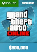 Grand Theft Auto Online: Tiger Shark Cash Card XBOX LIVE GLOBAL 200 000 USD Key