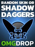 Counter-Strike: Global Offensive RANDOM SKIN OR SHADOW DAGGERS CASE CODE BY OMGDROP.COM