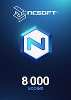 8000 NCoins NCSoft EUROPE Code