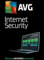 AVG Internet Security 3 Users 1 Year AVG Key GLOBAL