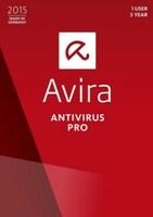 Avira Antivirus Pro 3 Users GLOBAL Key 1 Year