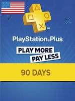 Playstation Plus CARD PSN NORTH AMERICA 90 Days