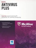 McAfee AntiVirus Plus 1 Device GLOBAL Key PC 1 Year