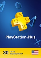 Playstation Plus CARD PSN NORTH AMERICA 30 Days