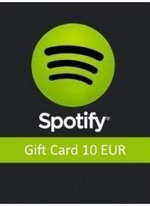 Spotify Gift Card 10 EUR Spotify EUROPE - box