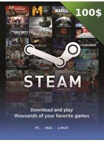 Steam Gift Card GLOBAL 100 CAD Steam Key