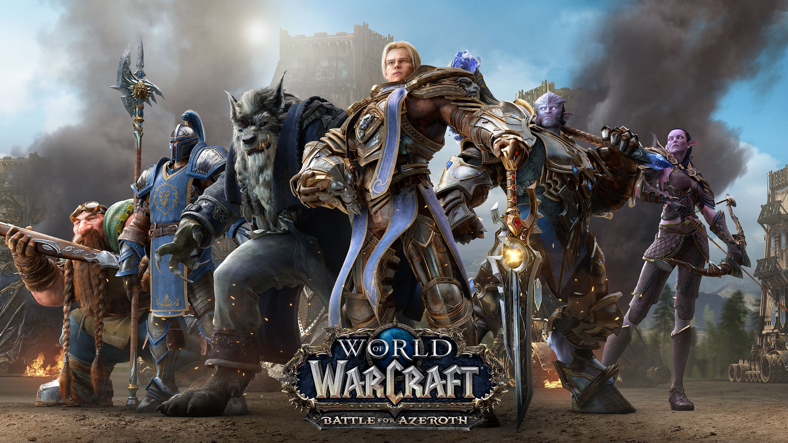 World of Warcraft: Battle for Azeroth Battle net Key EUROPE