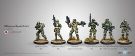 USAriadna Ranger Force Sectorial Starter Pack