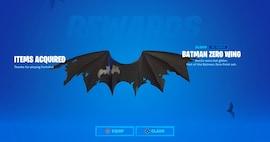 Fortnite - Batman Zero Wing Glider (PC) - Epic Games Key - GLOBAL