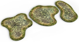 2D terrain - Swamp for Warhammer and other miniature games D&D