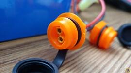Better Chargin port for Escoot XT30 Mod instead of Dangerous Microphone port ! DIY Set