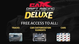 CarX Drift Racing Online - Deluxe (PC) - Steam Gift - GLOBAL