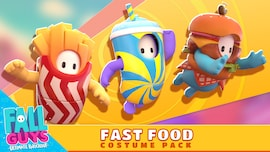 Fall Guys - Fast Food Costume Pack (PC) - Steam Gift - JAPAN
