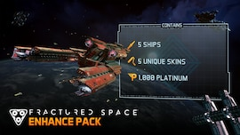 Fractured Space - Enhance Pack Steam Key GLOBAL